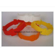 Водоустойчивый wristband кремния, фестиваль подарки (GZHY-ЕО-003)