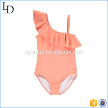 Off shoulder design bikini swimwear wholesale for children girs wear
