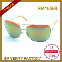 Men′s Metal Sunglasses with Custom Design