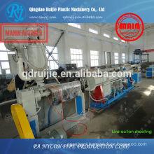 nylon pipe making machinery, pa pipe making machinery, nylon pipe production line