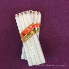 Longue utilisation de bougie blanche de bâton de brûlage d'utilisation quotidienne