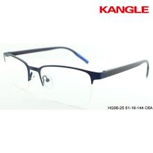 2018 prêt stock pas cher en métal lunettes optiques montures
