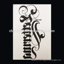 OEM Venta al por mayor pequeño tatuaje de hormiga tatuaje de brazo cruz tatuaje Impermeable tatuaje de brazo W-1005