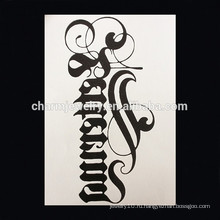 OEM оптовой небольшой муравей татуировки животного крест руку татуировки водонепроницаемый татуировки руку W-1005
