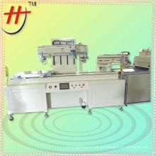 Impressora de tela de seda grátis com sistema de secagem e descarga IR