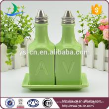 Nueva botella de vinagre de cerámica de diseño para la cocina