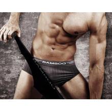 Nahtlose Bambus Unterwäsche für Mens Bikini Slip