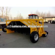 Haute qualité ! Turbine de mélangeur de compost d'engrais organiques montés par tracteur SD SUNCO
