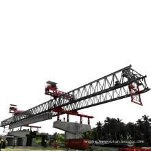 large beam launcher crane 100t trussed type bridge launching girder