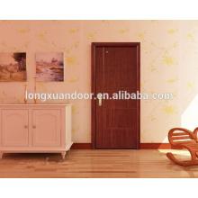 Conception de porte principale, cadre de porte en bois, porte en bois