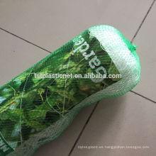 Red de protección de plantas plásticas / red de soporte de plantas trepadoras / Red de apoyo a plantas