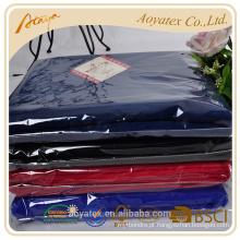 preço de fábrica 100% poliéster barato polar cobertor de lã estoque