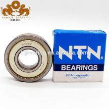 NTN Véritable liste de prix d'incidence du Japon et roulement à billes de cannelure profonde de la taille 6001 6001ZZ 6001LLU 6001LLB pour la machine d'industrie