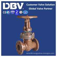 Pn25 Dn80 Wcb Wedge Flanged Gate Valve