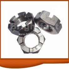 OEM for Hexagon Slotted Nuts, Slotted Round Nuts, Slotted Hex Nuts Suppliers and Manufacturer Hex Slotted Nuts DIN935 DIN937 supply to Ukraine Importers