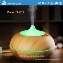 Difusor del aceite esencial del aroma 300ml, nueva niebla fresca ultrasónica del grano de madera