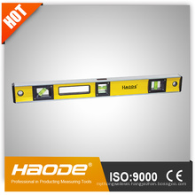 Heavy duty I-beam spirit level