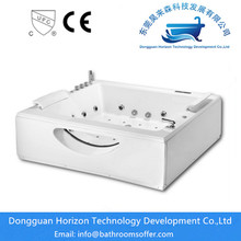 Wholesale Price for Square jacuzzi Bathtub Large freestanding acrylic soaking tub supply to Poland Exporter