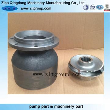 Fundição de areia de aço inoxidável / ferro fundido / Pump Bowl