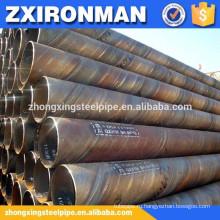 большого диаметра Спиральные сварные стальные трубы на продажу