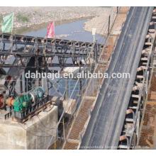 Nylon belt Iron and steel use burning resistant rubber conveyor nylon belt