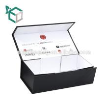 Fabrik Preis Customized Matte Schwarz Faltbare E-Zigarette Aufbewahrungsbox