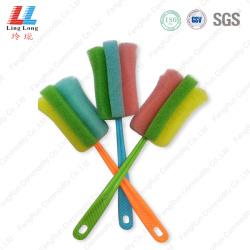 Superior cleaning brush sponge