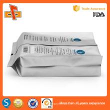 Seitliche Zwickel Aluminiumfolie laminierte benutzerdefinierte Druck Kaffeebeutel mit Ventil Großhandel Verpackung Tasche