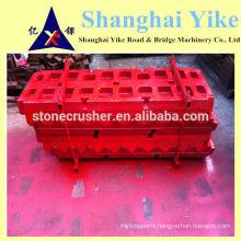 steel jaw plate for stone crusher machine