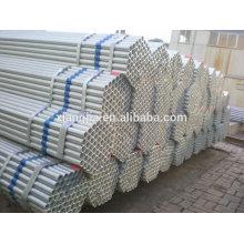 Fabricante de China económico para la tubería de acero galvanizada en caliente de Rumania