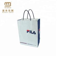 Sac à main de papier kraft imprimé par logo fait sur commande de empaquetage résistant de vêtements de luxe