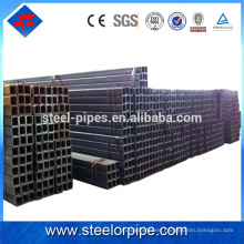 Productos calientes en caliente Tubo cuadrado de acero perforado