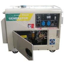 Бесшумный дизельный переносной генератор с сертификацией CE (1 кВА ~ 5 кВА)