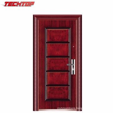 TPS-030 Reasonable Price Stable Quality Indian Main Steel Door Designs