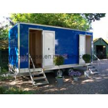 Bike Trailer, Portable Toilet, Movable Trailer Toilet