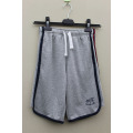 BOY'S KNITTING SHORT PANT SIDE SEAM WITH STRIPE PANEL