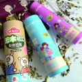 Custom wax crayon tube box/wax crayon packaging