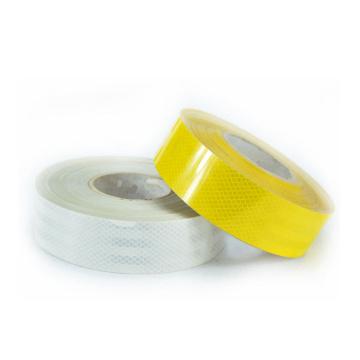Warnendes Streifen-Glühen-in-d-Dunkelheit Retro- reflektierendes Material PVC-reflektierendes Band