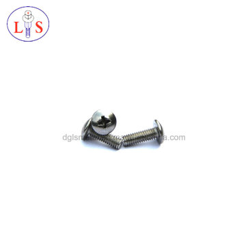 Fastener/Stainless Steel 304 Bolt/Cross Recess Truss Head Bolt