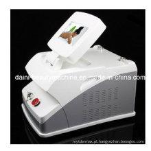Máquina quente fria Multipolar da beleza dos cuidados com a pele da perda de peso do fotão do diodo emissor de luz do vácuo 13in1 RF