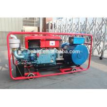 Générateur diesel refroidi à l'eau de cylindre simple de 10kW
