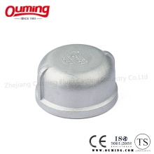 Screwed Stainless Steel/Carbon Steel Round Cap