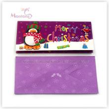 Carte de Noël joyeux papier clignotant