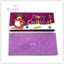 Flashing Paper Merry Christmas Card