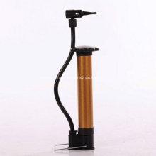 Bomba de mano de bicicleta aluminio tubo con calibrador