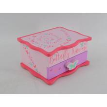 Boîte en bois mignonne colorée pour bébé