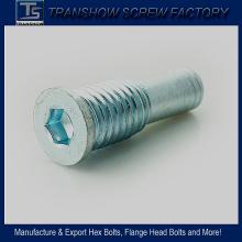 Tornillo de cabeza plana hexagonal M10X45