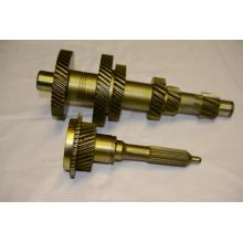 brass precision input gear shaft for trucks