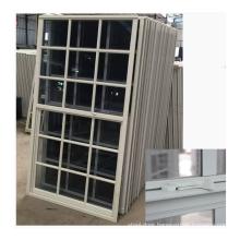 Factory directly price aluminium profile single hung vinyl window