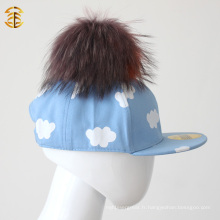 Prix ​​de gros de l'usine Cute Blue Childrren Baseball Cap For Kid